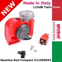 tromba bitonale 139 db RED FIRE